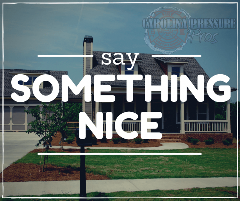 The Say Something Nice Promotional Campaign
