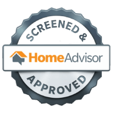 HomeAdvisor's Screened and Approved stamp of approval